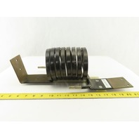 """D-210422 REV. -BR1 8 Pass Induction Coil 4"""" ID 3/8"""" Tube"""