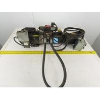 Baldor CL3510 1Hp 115/230V Single Phase 1Ph Hydraulic Pump 2 Gal Reservoir