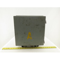"""Hoffman A-1212CH 12x12x6"""" Type 12 Electrical Enclosure"""