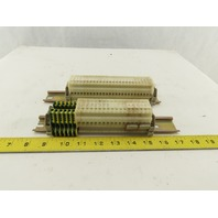 Allen Bradley 1492-HM1 30A 600V Single Pole Wire Terminal Blocks Lot Of 49
