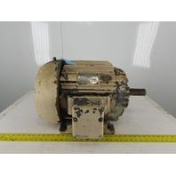 Allis Chalmers 10Hp Electric Motor 284U Frame 440V 3Ph 1160RPM