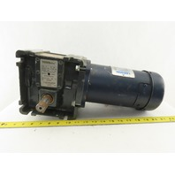 TORQube Type QC 60:1 Ratio 29 RPM 1/4Hp 180V Direct Current Gear Motor