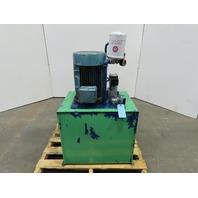 40 Gallon 15Hp 230/460V 3Ph Hydraulic Power Unit W/Monarch 2949 Pump 3000 PSI