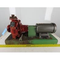 "Armstrong 4060 BF 3Hp 1725RPM 208-230/460V 1.5X1X8"" Horizontal Packaged Pump"