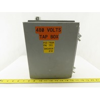 "Wiegmann B100804CH 10 x 8 x 4"" Type 12 Electrical Enclosure With Back Plane"