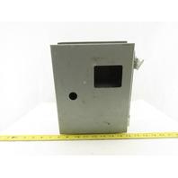 "Wiegmann B100804CH 10"" x 8"" x 4"" Type 12 Electrical Enclosure"