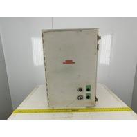 "Hoffman A302010LP 30 x 20 x 10"" NEMA Type 12 Electrical Enclosure"