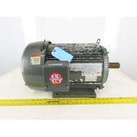 US Motors T787A 15Hp Electric Motor 208-230/480V 3ph 254T Frame 3540RPM