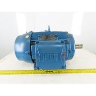 WEG 02036ET3E256T-W22 20Hp Electric Motor 230/460V 3Ph 256T Frame 3510 RPM