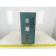 Square D Class 8538 Size 0 600V 5Hp 3Ph 3 Pole Fused Combination Starter 110V