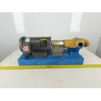 Viking HJ4195 3Hp 1750 RPM 208-230/460V 250 PSI 20 GPM Packaged Pump