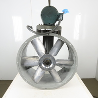"""Aerovent 30B306-BTABD-X 30"""" Paint Booth Tubeaxial Fan 5Hp 208-230/460V 3hp"""