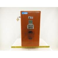 Allen Bradley 8536SEG1 Motor Starter Size 1 240 VAC Coil W/Enclosure