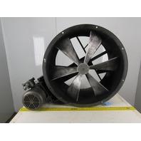 "Americraft B30-3X 30"" Explosion Proof Wet Location Belt Drive Tube Axial Fan 3Hp"