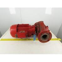 Armstrong 10Hp 1745RPM 230/460V Cast Iron 3x4 Vertical Inline Pump Motor