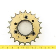 Martin 80SF20 #80 Single Strand Roller Chain Sprocket 20 Teeth QD Bushed