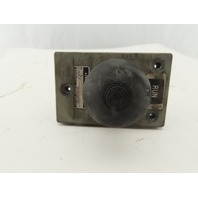 General Electric 2940NP411G 600V Mushroom Head Operator Push Button Switch