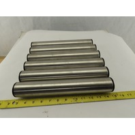 """Interroll 1.90"""" OD 12-1/2"""" BF 12-1/2"""" OAL Stainless Conveyor Roller Lot Of 6"""