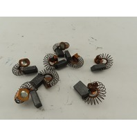 """A121 11/16"""" x 1/4""""T x 1/2"""" Wide Spring Back DC Motor Carbon Brushes Lot Of 8"""