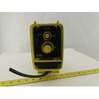 LMI Milton Roy AA141-155HV .58 Gal/Hr. 250 PSI Programmable Metering Dosing Pump