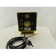 LMI Milton Roy C121-75HV 4 Gal/Hr. 100 PSI Programmable Metering Dosing Pump