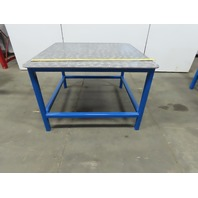 "48"" x 48"" x 32"" Tall Steel Top Welding Assembly Fabrication Bench"
