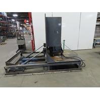 Aerdon 5000# MAX 90° Hydraulic Coil Upender Flipper 1.5 Hp 208-460V