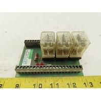 Cincinnati 821293 REV B FM Guard Interface Relay Circuit Board