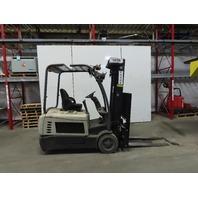 """Crown SC5245-40 4000 Lb. 36V 3 Wheeled ForkLift 42"""" Forks 4 Way Positioner"""
