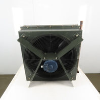"3/4Hp 208-460V 3Ph Compressor Aftercooler 30""x30"" 3 Pass 3/8 Tube 12 Fins/Inch"