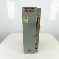 Westinghouse 10Hp 3Ph 480V Size 1  Fused Combination Motor Starter Disconnect