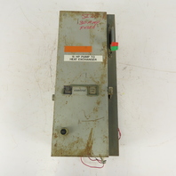 General Electric CR306C1 600V 10Hp 3Ph 3PSize 1 Combination Starter Disconnect