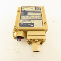Square D Class 9012 Type GAW-25 Pressure Switch 3-150 PSI 600V
