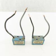 R K Electric RCS1A-6V 120VAC Transient Voltage Line Filter Lot Of 2