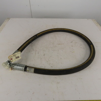 "Parker 792TC 1"" High Pressure 6000 PSI Hydraulic Hose 3/4"" Split Flange 75-1/2"""