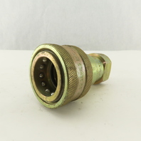 Parker H6-60 60 Series Female Hydraulic Quick Connect Coupling 3/4 NPT