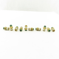 Prestolok 1/4 Push To Connect Brass Connector 1/4 NPT Lot Of 10