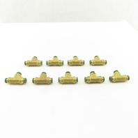 Parker Prestolok 5/16 Push To Connect Brass Tee Lot Of 9