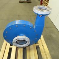 """3Hp 208-230/460V 3500 RPM 8""""x5""""x20"""" Backward Incline High Pressure Blower"""