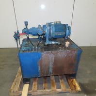 Vickers VVA40/10 Multiple Vane Pump 5.5kW 380/220V Hydraulic Unit 98 USG