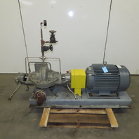 Flowserve 2LLR-11 50Hp 3540RPM 208-460V 250GPM 2 Stage Horizontal Pump Package