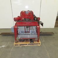 "Sampson MN12 12"" Double Miter 45° Cutoff Saw 10' Runout 1.5Hp 208-440V"