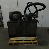 Vickers PVB29RS20 Axial Piston Pump Hydraulic Power Unit 96 Gallon 208-460V