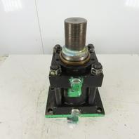 """Atlas Cylinder H-REF-2 6"""" Bore 2"""" Stroke 4"""" Rod 3000PSI Hydraulic Cylinder"""