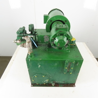 Double A PVV-12-10A2 5Hp 208-460V 3Ph 20 Gallon Variable Volume Hydraulic Pump