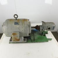 Master P25A100 Commercial Intertech 10Hp 220/440V Packaged Motor Gear Pump