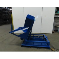 "2500lb 70° Hydraulic  Material Handling Pallet/Basket Tilter/Upender 44""x48"""