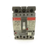 General Electric SEPA36AT0030 30A 600V 3 Pole Circuit Breaker 20A Trip Unit