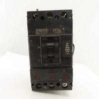 Westinghouse 1265C95G04 400A 3P Circuit Breaker 600VAC Adjustable Magnetic Trip