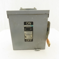 Siemens 240V 30A General Duty Enclosed Switch LOTO Rainproof